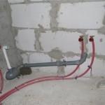Монтаж водопровода, система Rehau Rautitan