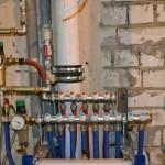 Коллекторная разводка водопровода REHAU