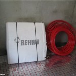 Теплый пол Rehau - фотоотчет