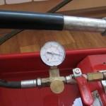 Чешка, установка радиатора на кухню