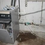 Монтаж отопления, Ecoplastik, открытая разводка труб