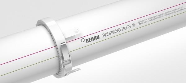 Монтаж канализации Rehau Raupiano Plus