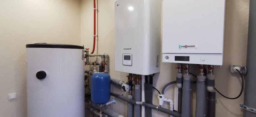 Тепловой насос воздух-вода LG Therma V